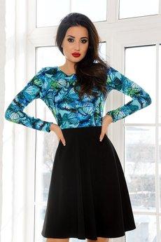 Платье с бабочками Open-Style